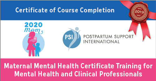 PSI Certificate of Course Completion